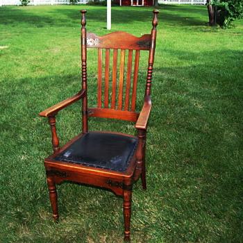 My Tall Oak Mystery Chair