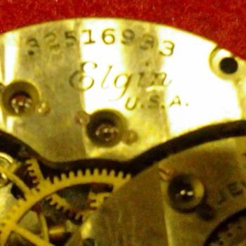 old elgin wristwatch - Wristwatches
