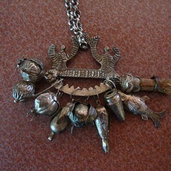 Early German Brooch? - Costume Jewelry