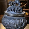 Bronze Incense Burner - very well-used!