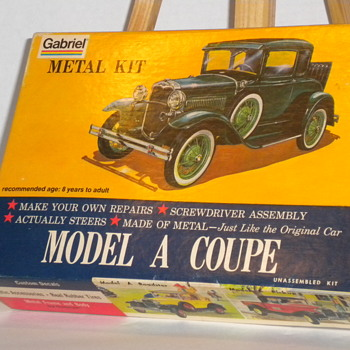 Model A Coupe - Model Cars
