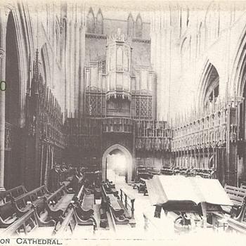 "CHOIR, RIPON CATHEDRAL ""AUTY SERIES"" G.H., W.B.  1271. - Postcards"