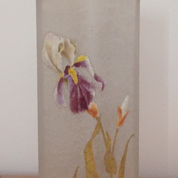 lovely vase by Legras' factory - Art Nouveau