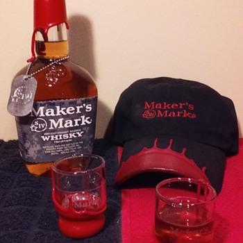 MAKER'S MARK BOURBON items, group 3 - Bottles