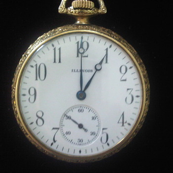 Vintage Illinois Pocket Watch