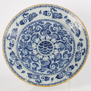 Chinese Ming period porcelain plate - Asian