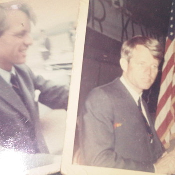 RFK 68 oregon campaign just weeks before his unfortunate assassination - Photographs