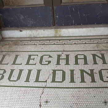 Alleghany Building Entryway - Pottery