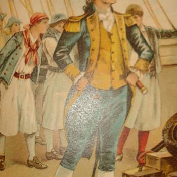 "JOHN PAUL JONES ""THE FIRST CAPTAIN IN THE U.S. NAVY"" - Books"