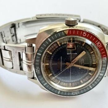 Vintage 1969 Bulova Oceanographer Snorkel - Wristwatches