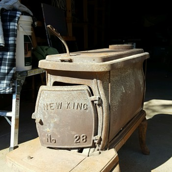 New King No. 28 Wood Stove
