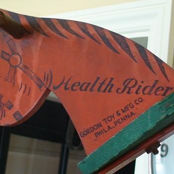 Health Rider Horse by Gordon Philadelphia PA - Toys