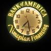 """21"""" Bank Of America original neon clock"""