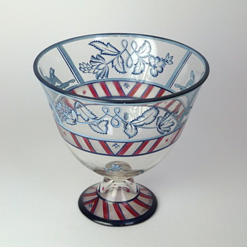 Wiener Werkstätte Vally Wieselthier glass bowl - Art Glass
