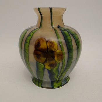 Ernst Steinwald & Co. - decor Flowerall - Art Glass