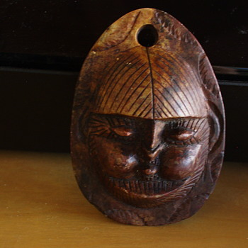 Help Identifying My Miniature Wooden Mask - Folk Art