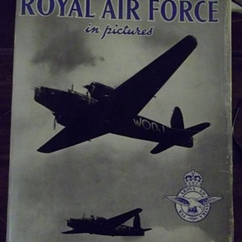 1941 The Royal Air Force in Pictures - Books