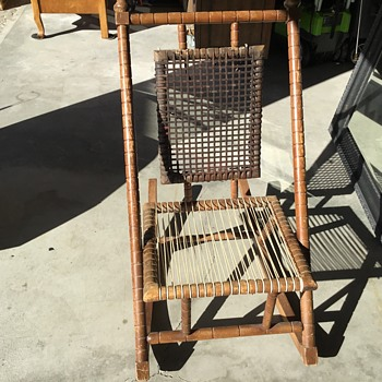 Inherited rocking chair - Furniture