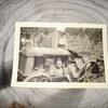 VINTAGE PHOTO OF A CULTAVADING TRACTOR
