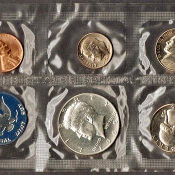 1965 - U.S. Special Mint Coins Set - US Coins