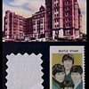 Beatles bed sheet swatch and COA-1966