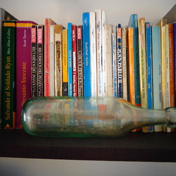 Blown glass bottle - Bottles
