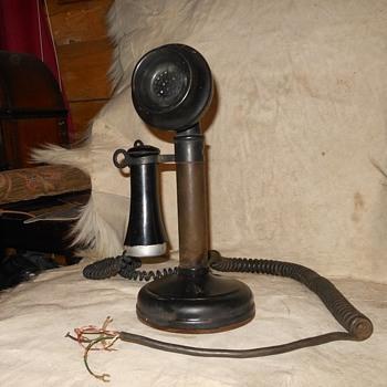 1908 KelloggCandlestick Phone - Telephones