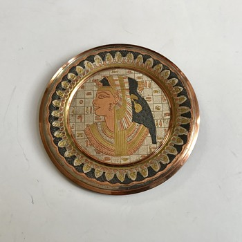 Vintage Egypt Plate wall - Advertising