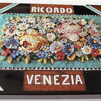 Micro Mosaic Venice Paper Weight