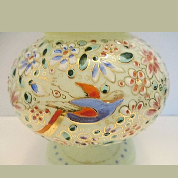 Vaseline Vase Czech Republic? - Art Glass