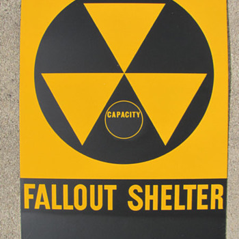 Fallout Shelter Sign - Signs