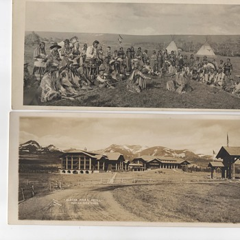 Photos Montana 1915  American Blackfeet Indians  - Postcards