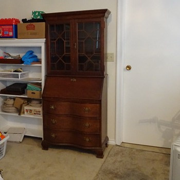 Secretary desk with secret compartment - How to open?? - Furniture