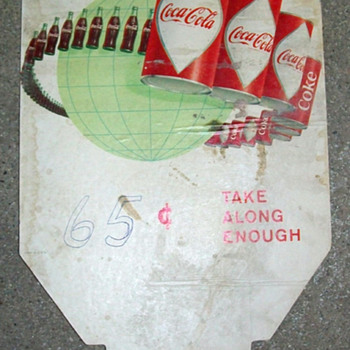 Coke topper - Coca-Cola