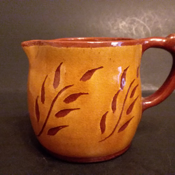 Redware pitcher, Côte-Saint-Luc, Quebec - Pottery