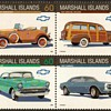 """Marshall Isld's """"Chevrolet"""" Postage Stamps"""