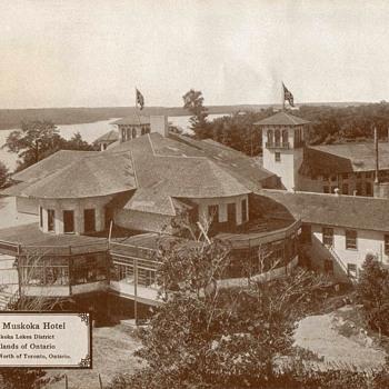 """""""Royal Muskoka Hotel"""" Ontario - Circa 1917 - Photographs"""