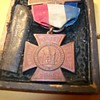 1883 Womens relief Corp. badge