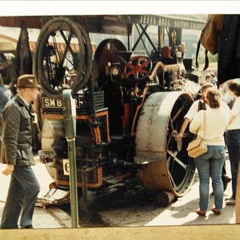 1984/1991-old Birmingham-old steam locomotives. - Railroadiana