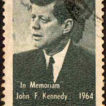 "Brazil - ""John F. Kennedy"" Postage Stamp - Stamps"
