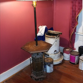 Floor lamp with table need info please  - Lamps