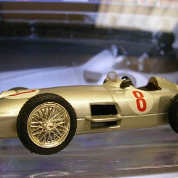 1955 Mercedes Benz W196 'Silver Arrow' F1 Car - Model Cars