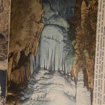 Carlsbad Caverns - Photo-Postcards - Postcards