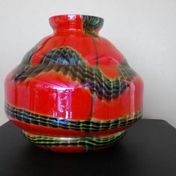 Czechoslovakia Cased glass