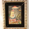 Three Original Comical Clown Paintings by  George Crionas