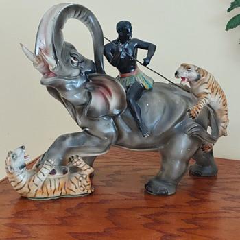 Crazy elephant  - Animals