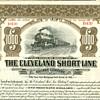 Cleveland Short Line Railway Bond