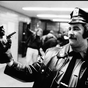 B & W 1979 NYPD  pic.Night at the Police Station!! - Photographs