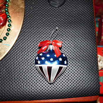 Waterford American Heart Ornament - Christmas