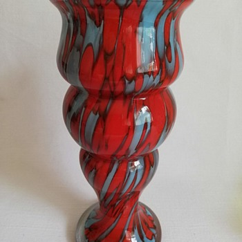 Welz Vase - Art Glass